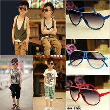 Cool Child Boys Girls Kids Plastic Frame Aviator Sunglasses Goggles vhk
