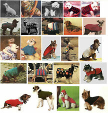 RMC1 Dog Pet Coat Sweater Jacket Crochet Pet Pattern Instructions ☆☆☆☆☆