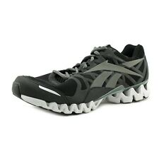 Reebok Mens ZigTech Shark 3.0 Running Shoes Black Sneakers NEW