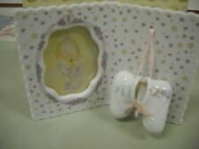 Precious Moments Photo Frame with Mini Shoes