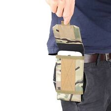 Tactical Outdoor Army Camo Cell Phone Pouch Belt Loop Bag Hook Mobile Case