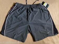 """Nike Tempo 2-in-1 7"""" Men's Dri-FIT Running Shorts, S / Anthracite - $52 NWT!"""