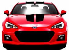 "QUALITY Subaru BRZ Center Rally Sport Racing Stripe 9"" Double Vinyl Decal NEW"