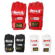 PU Leather MMA UFC Sparring Muay Thai Fighting Boxing Punch Bag Gym Pads Gloves