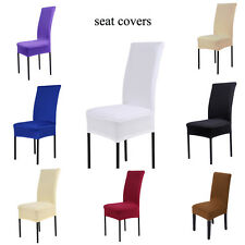 Seat Covers Kitchen Bar Dining  Hotel Restaurant Wedding Part Chair Cover Decor