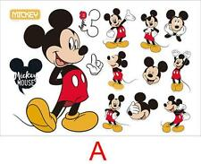 Mickey Minnie Mouse kids room decor Disney Wall sticker Cartoon baby bedroom art