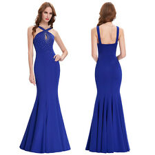 New Mermaid Formal Gown Evening Prom Party Wedding Bridesmaid Long Dress Banquet