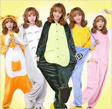 Hot New Unisex Adult Pajamas Kigurumi Cosplay Costume Animal Onesie Sleepwear*