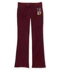 aeropostale womens aero 1987 fit & flare sweatpants