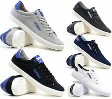 Mens Lace Up Casual Canvas Espadrilles Summer Plimsolls Trainers Pumps Shoe Size