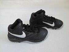 New Boys Nike Air Max Premiere Basketball Shoes Style 703928-001 BlkSilver 139N