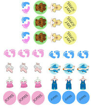 CUPCAKES BABY SHOWER Edible Icing Image decoration sugar Cake Topper paper