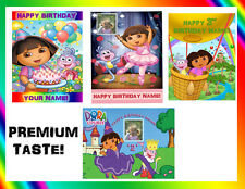 DORA THE EXPLORER Edible Cake topper Icing Image Picture birthday custom sugar
