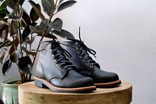 NWT Chippewa Service Boot - Odessa Black made in USA mens boots hand crafted