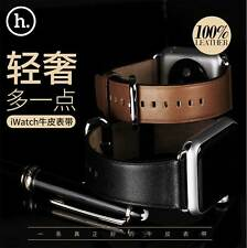 HOCO Genuine Leather Strap Wrist Watch Band for 38/42mm Apple Watch iWatch