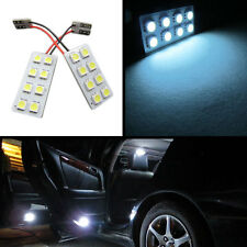 8-SMD LED Panel Error Free T10 Chip License Plate Trunk Parking Lights (White)