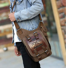 Men's Fashion Canvas messenger Bag Shoulder bag Military bag Messenger bag