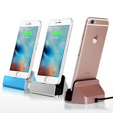 Apple iPhone 5s 6s Models iPad mini Desktop Charging Dock Stand Station Charger