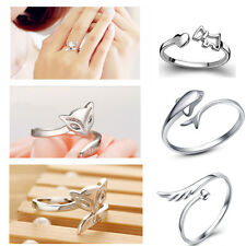 Silver Plating Ring Finger Fashion Women Ring Opening Adjustable Romantic