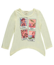 "One Step Up Little Girls' Toddler ""Parisian Snapshots"" Top (Sizes 2T - 4T)"