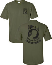 POW MIA You Are Not Forgotten Vietnam War Military America Men's Tee Shirt 897
