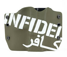 Walther, Infidel OD Green, OWB Kydex Gun Holsters