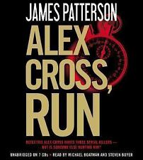 Alex Cross, Run by James Patterson (2013, CD, Unabridged)  Listened to ONE TIME!
