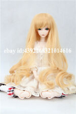 BJD Doll Hair Wig GLOD  Oblique bangs long wigs BJD LUTS PULLIP SD BJD Doll