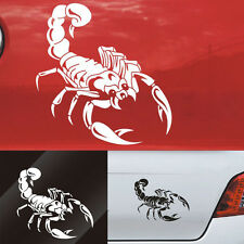 30CM Cute 3D Scorpion Car Stickers Car Styling Sticker for Cars Decoration DIY