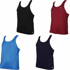 More Mile Muscle Mens Fitness Gym Running Sports Vest Singlet MM2118-2121