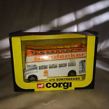 1983 Corgi 478 Suntrekker Double Decker Bus - Mint in Original Box!!