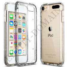 Slim Clear Transparent Silicone Gel Case and Screen Protector for iPhones