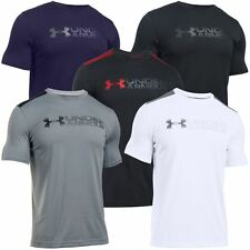 2016 Under Armour Raid Turbo Graphic SS Fitted Tee Training Top T-Shirt