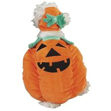 Dog PUMPKIN POOCH Plush Halloween Costume Costumes Orange Pet Puppy  XS S M L XL