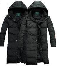 Big Size Casual Parka Men winter Duck Down Long Jacket Coat Hooded Thick Outwear