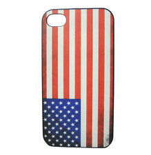 Colorful American Flag Painting Case for iPhone 5 SE 4 Cover Skin USA US flag