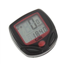 Cycling Bicycle Bike Computer LCD Odometer Speedometer Stopwatch Speed meter BE