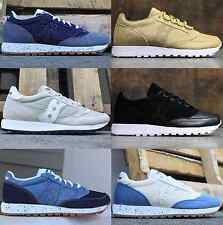Men's Saucony Originals Jazz O Lux O Denim Sneakers Running Lifestyle Shoes 5-14