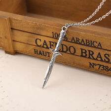Lovely Sword Necklace & Pendant/19.5 Inches/50cms Length/Viking/Celtic