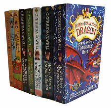 How To Train Your Dragon - Cressida Cowell - 8 Book Collection Set