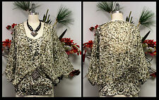 NewAnimal print, Asymmetrical Designer Plus Size Top Tunic