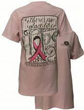 Southern Couture Hope Breast Cancer Pink Ribbon Awareness Girlie T-Shirt