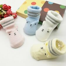 0-6 M Infant Baby Kid Soft Anti-slip Sole Socks Newborn Boys Girls Cartoon Socks