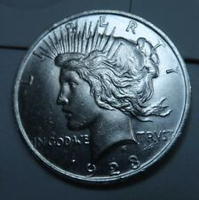 1923 Peace Dollar // Uncirculated // 90% Silver (PD204)