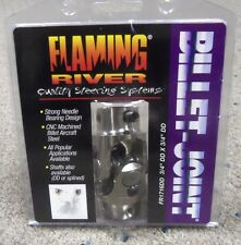 "BRAND NEW FLAMING RIVER 3/4"" DD X 3/4"" DD UNIVERSAL JOINT NICKEL PLATED"