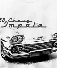 Chevy Impala 1958 Classic Chevrolet Car Auto T Shirt All Sizes & Colors