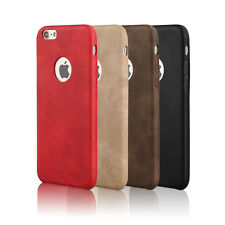 Business Luxury Ultra-thin PU Leather Skin Case Cover For Apple iPhone 6 6S Plus