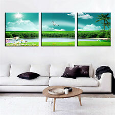 Painting Landscape Modern Canvas Painting Wall Pictures Scenery Home Decor 3Pcs