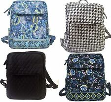 Large Backpack Campus Bookbag Schoolbag Laptop Backpack Quilted Free Shipping