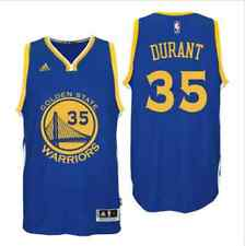 Kevin Durant  #35 Golden State Warriors Swingman Basketball Jersey Blue/White